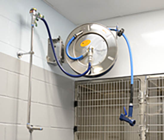 Avoid delays and save time with complete hose reel systems
