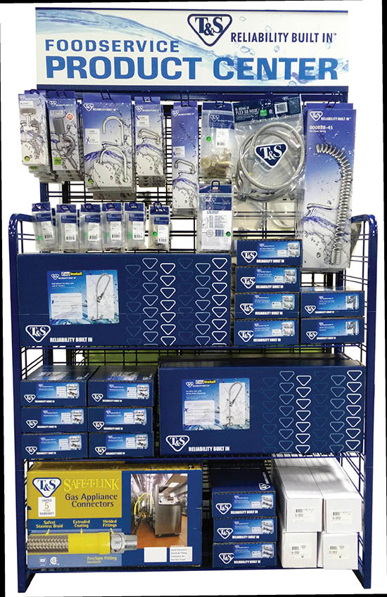 Introducing the T&S Brass POP Foodservice Product Center Display