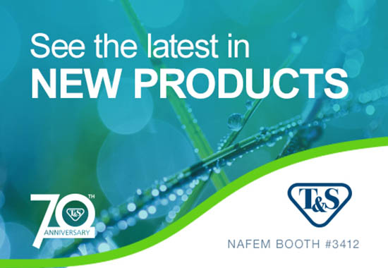 Visit T&S at NAFEM for the latest in new products and water conservation