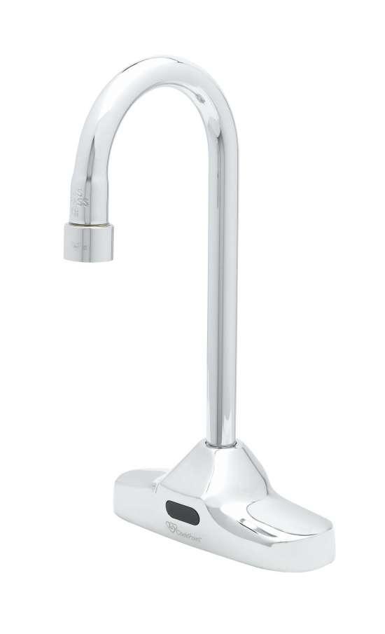 T&S Brass Introduces Sensor Faucet for Easy Deck-Mount Retrofit