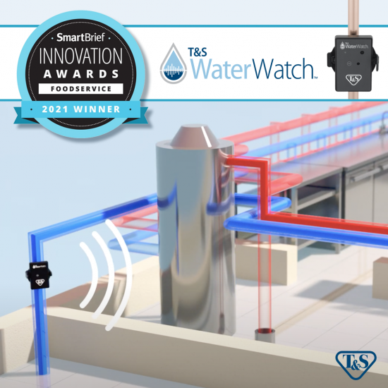 T&S WaterWatch wins Innovation Award for Foodservice