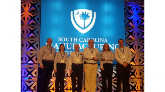 T&S wins South Carolina state manufacturing award for excellence