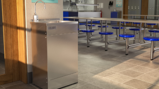 Hand to mouth: The benefits of portable handwash stations wherever people eat