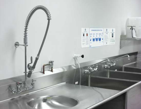 Pre-rinsing in the wild: The right pre-rinse unit accessories improve real-life function, durability