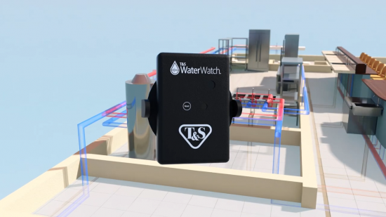 T&S unveils new water monitoring technology for restaurants