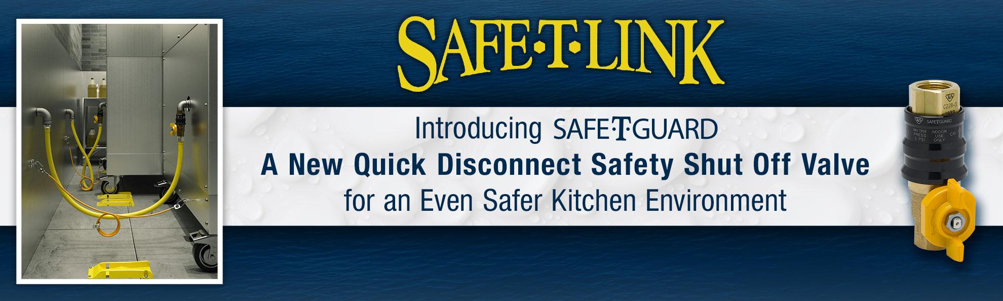 T&S Brass SAFE-T-LINK Gas Hoses