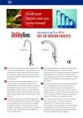 New CEF-EU Utility Line Sensor Faucets Flyer