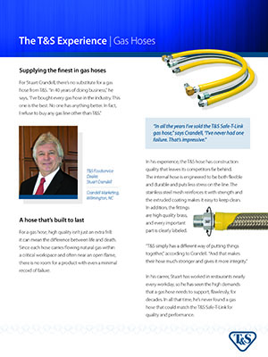 T&S Case Study: Safe-T-Link Gas Hoses