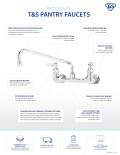 Pantry Faucet Quick Reference Flyer