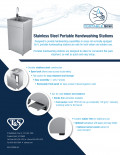 Stainless Steel Portable Handwashing Stations Flyer