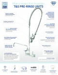 Pre-Rinse Unit Quick Reference Flyer