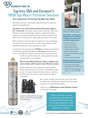 Water Filtration Solution Flyer