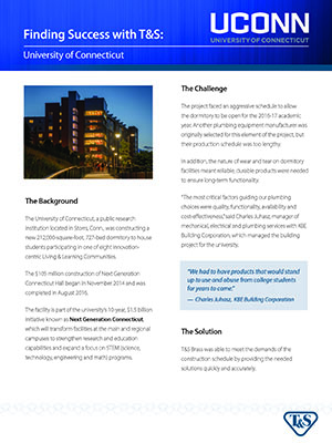 T&S Case Study: University of Connecticut