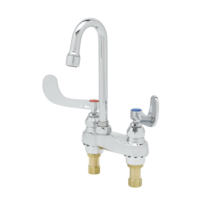 Medical & Lavatory Faucets: B-0892-QT-F05 - T&S Brass