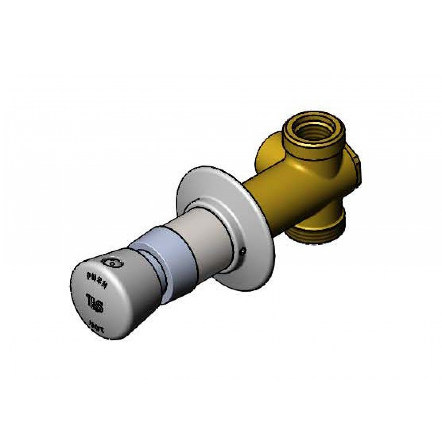 Concealed Bypass Mixing Valves: B-1029-2 - T&S Brass