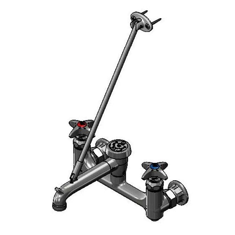 k double buyplumbing stemsamerican mounted wall mop speakman cp sink floor inset kohler faucet product parts net height