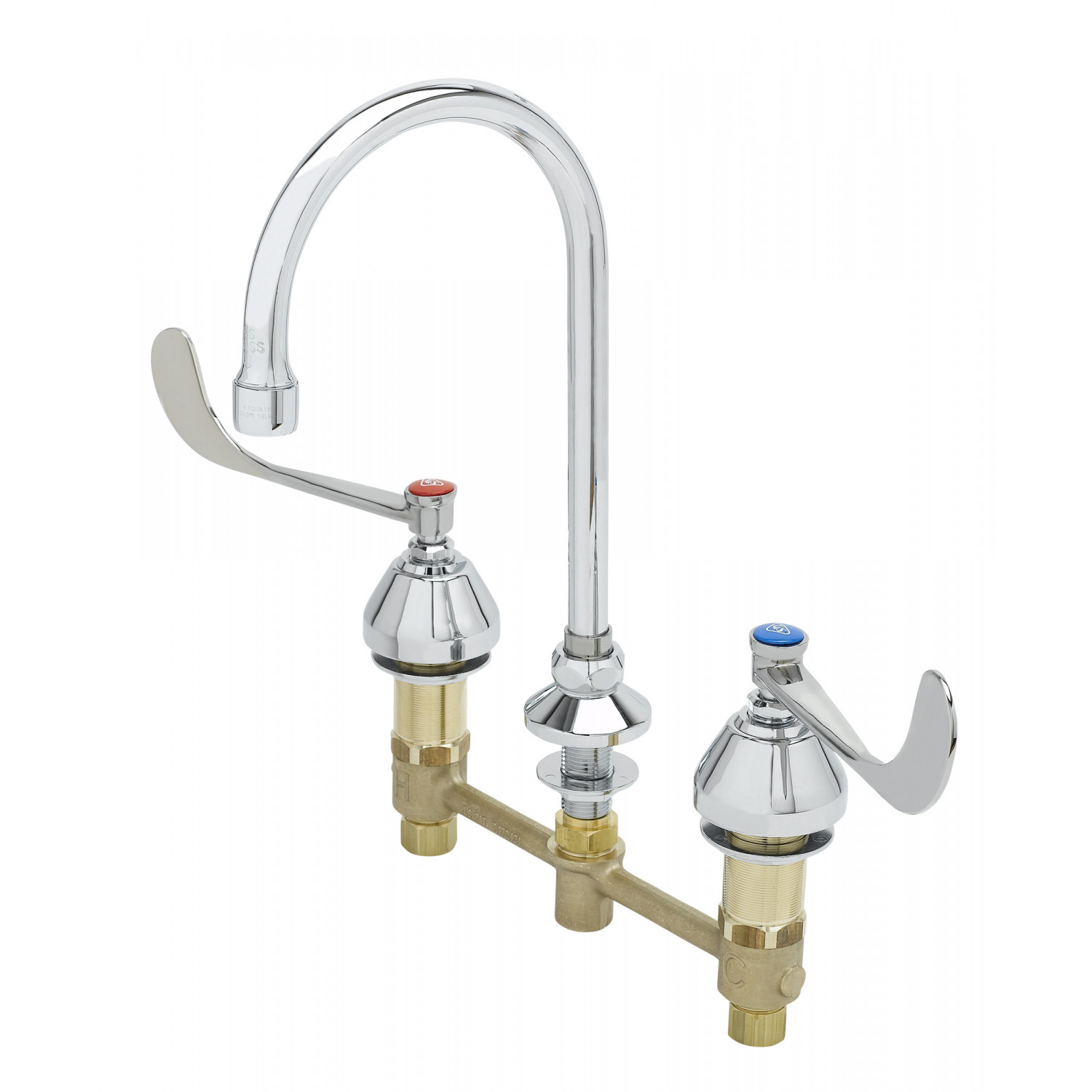 Medical & Lavatory Faucets: B-2866-F05 - T&S Brass