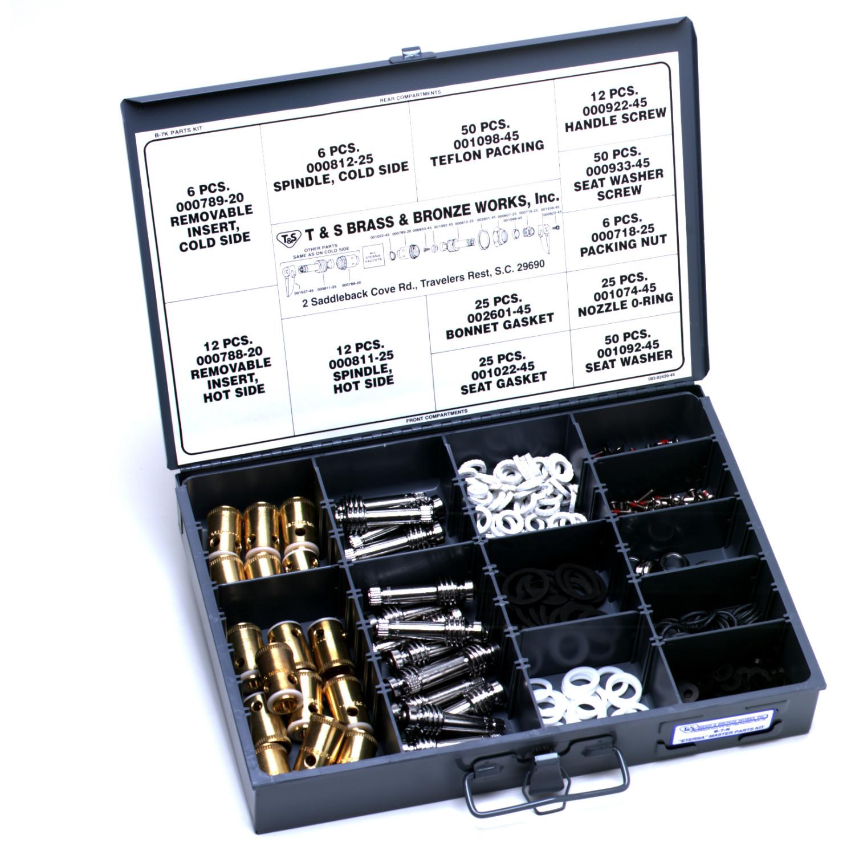 Parts Kits: B-7K - T&S Brass