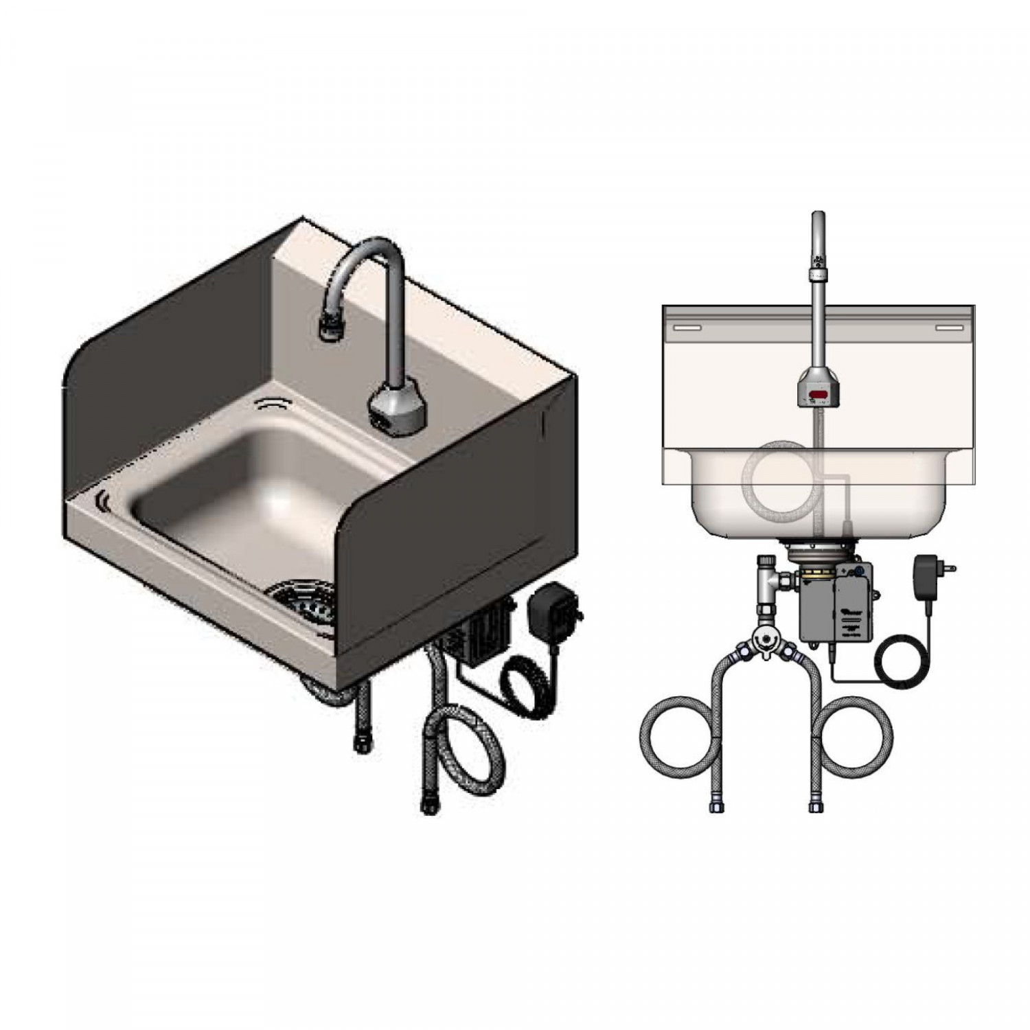 Sensor Faucets - ChekPoint: CH-3101-S - T&S Brass