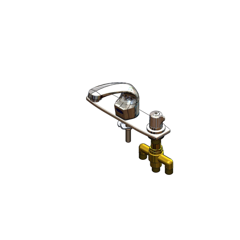 Sensor Faucets - ChekPoint: EC-3102-SMT8V05 - T&S Brass