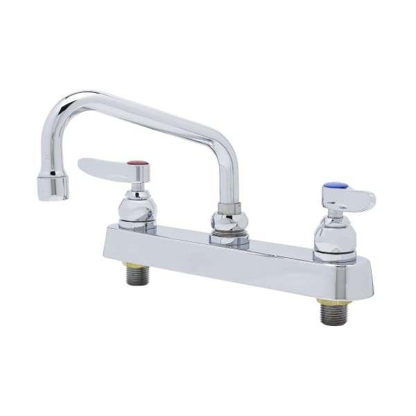 TS Brass B-1120-LN Workboard Faucet Chrome